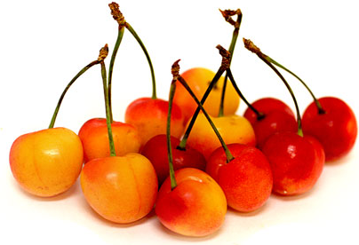 Rainier Cherries Information, Recipes and Facts