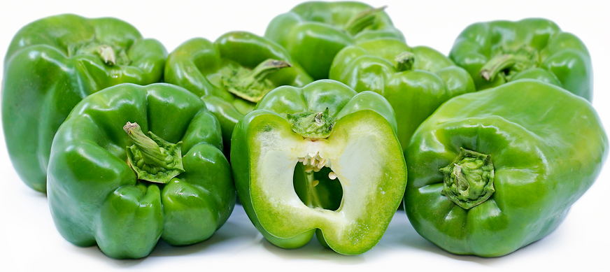 Large Green Bell Peppers picture