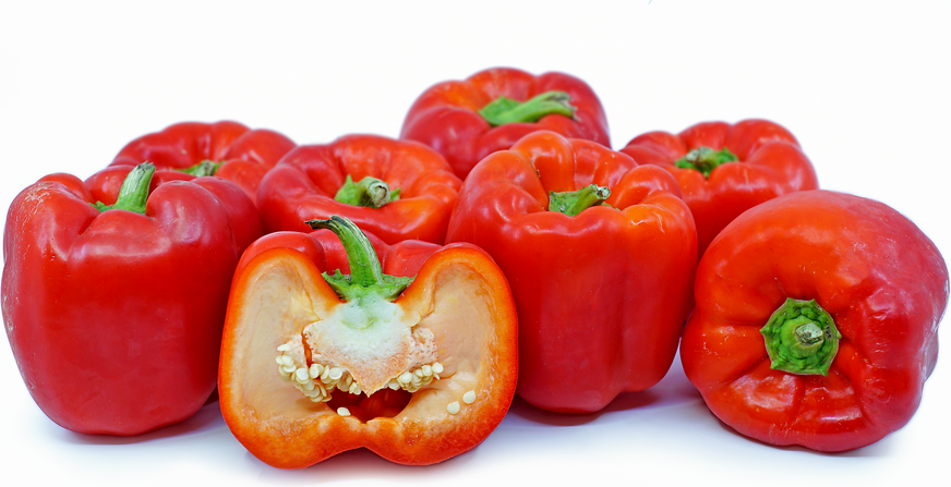 Large Red Bell Peppers picture