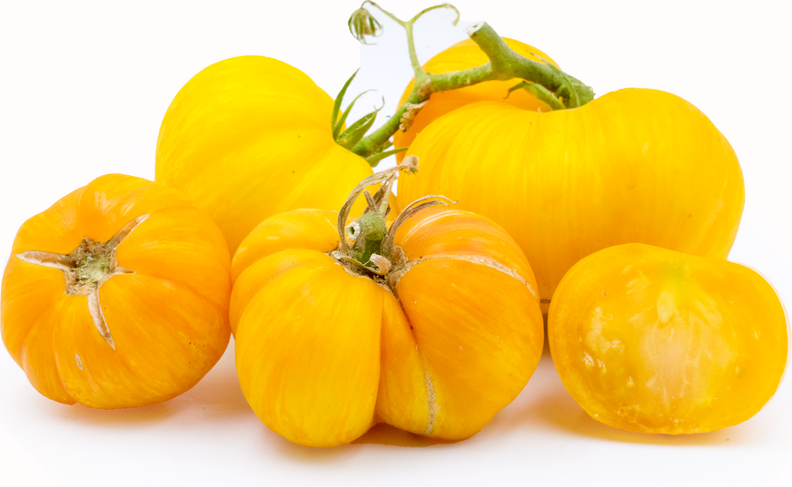 Yellow Zebra Tomatoes picture