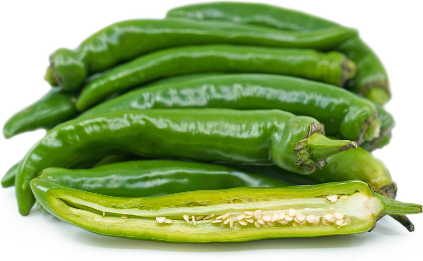 Green Korean Hot Chile Peppers picture