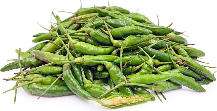 Green Thai Bird Chile Peppers picture