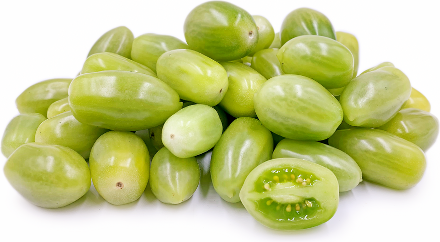 Green Plum Cherrry Tomatoes picture