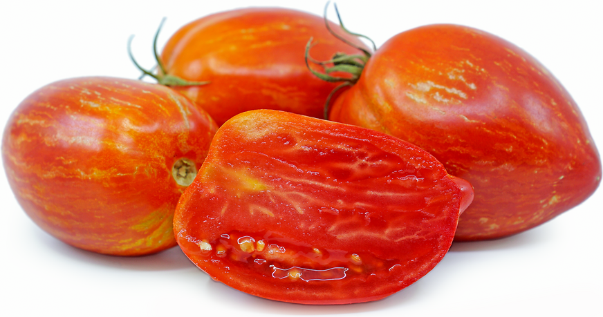Speckled Roman Tomatoes picture