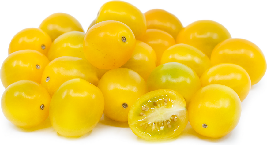 Yellow Grape Cherry Tomatoes picture