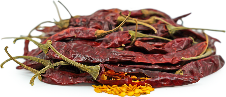 Dried Arbol Chile Peppers