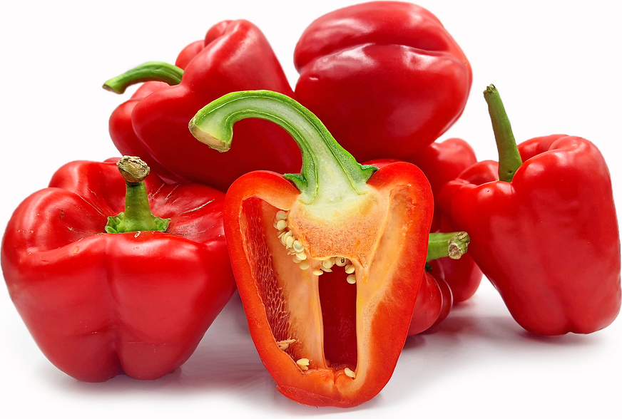 Red Holland Bell Peppers picture