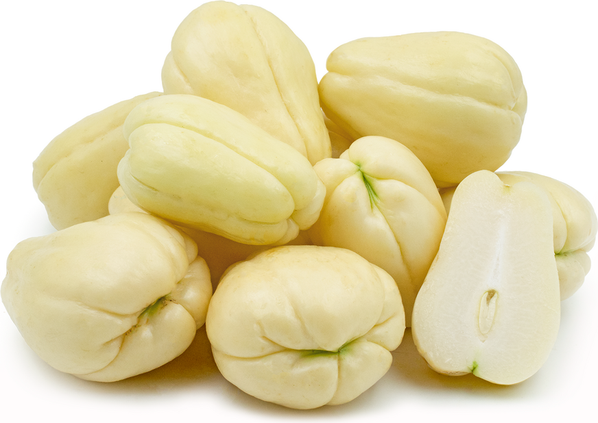 White Chayote Squash picture