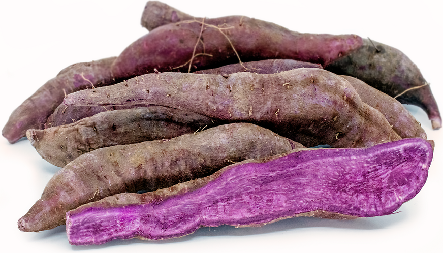 Purple Japanese Sweet Potatoes picture